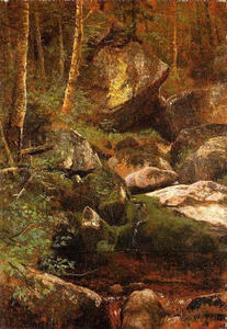 Albert Bierstadt - Bosque Corriente
