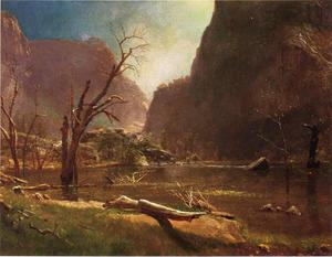 Albert Bierstadt - Escotilla Hatchy Valle , California