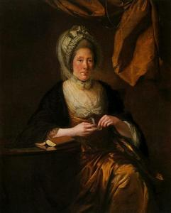 Joseph Wright Of Derby - Señora Francis Hurt