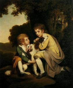 Joseph Wright Of Derby - Thomas y José Pickford como niños