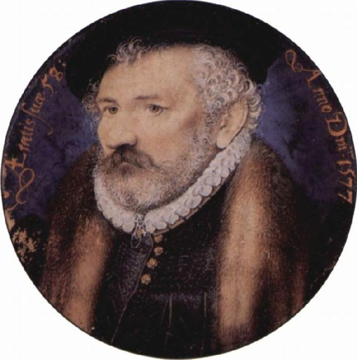 Richard Hilliard, óleo de Nicholas Hilliard (1577-1619, United Kingdom)