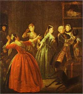 William Hogarth - el `theft` de un ver