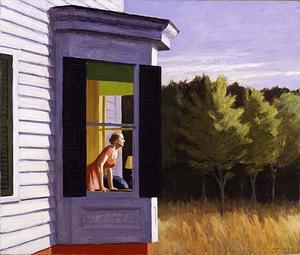 Edward Hopper - Mañana en Cape Cod
