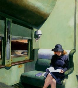 Edward Hopper - Compartimiento C de coches