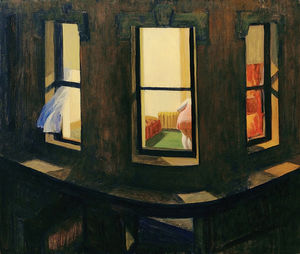 Edward Hopper - Noche de Windows