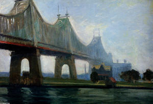 Edward Hopper - Queensborough-Puente
