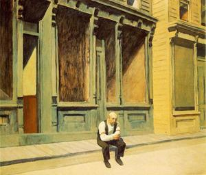 Edward Hopper - domingo