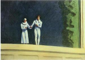 Edward Hopper - Dos comediantes