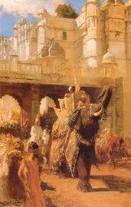 Edwin Lord Weeks - A Royal Procesión