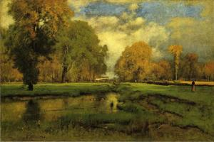 George Inness - octubre