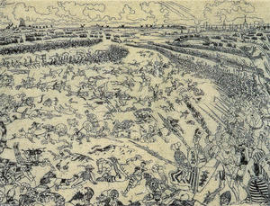 James Ensor - batalla de el dorado `spurs