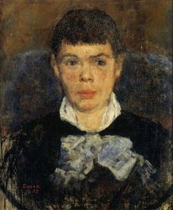 James Ensor - La fille au nez respingona