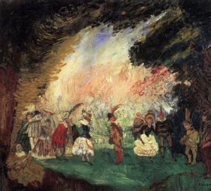 James Ensor - Le Jardin d amour