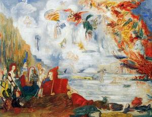 James Ensor - Les Tribulaciones de saint Antoine