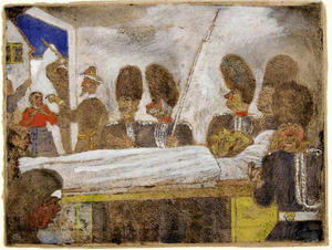 James Ensor - Los gendarmes 1