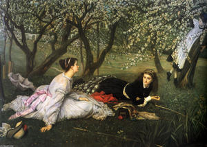 James Jacques Joseph Tissot - primavera