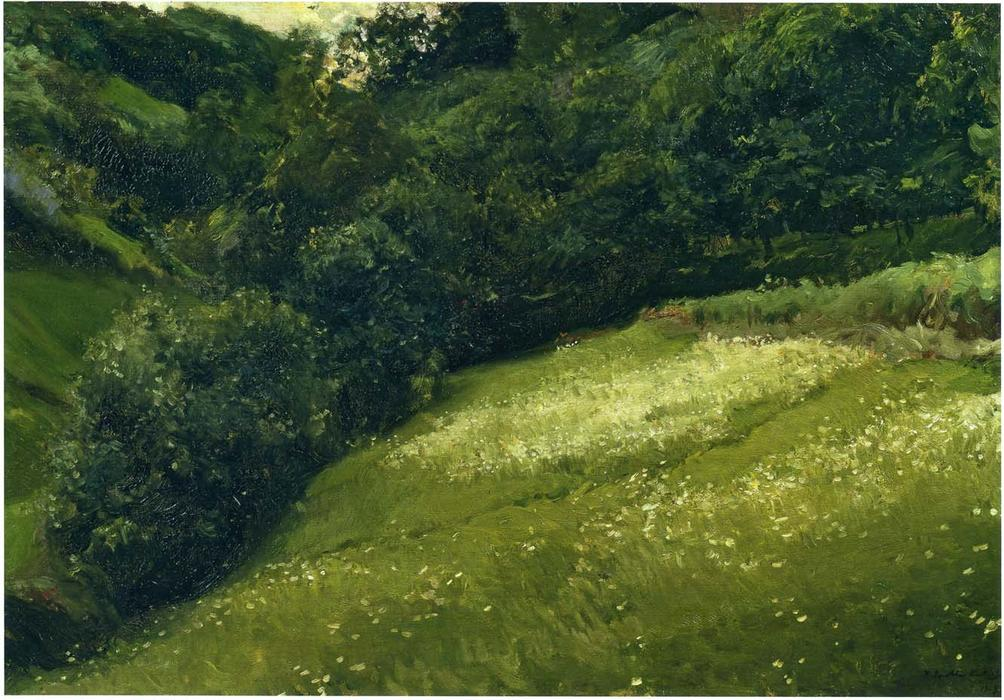 El campo en asturias leo sobre lienzo de joaquin sorolla - Pintores en asturias ...