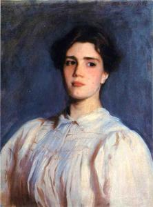 John Singer Sargent - Retrato Sally Fairchild