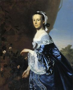 John Singleton Copley - Mrs.James Warren (Misericordia Otis)