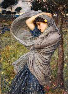 John William Waterhouse - Bóreas