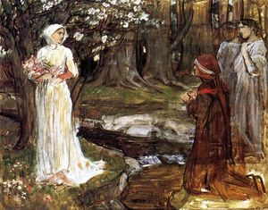 John William Waterhouse - Dante y Beatriz