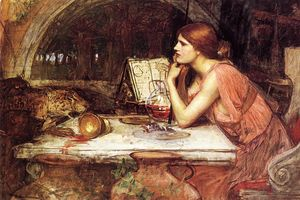 John William Waterhouse - Bosquejo de Circe