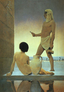 Maxfield Parrish - Egipto