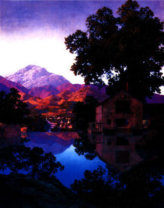 Maxfield Parrish - El Millpond