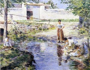 Theodore Robinson - Chismes