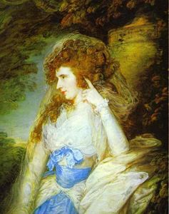 Thomas Gainsborough - María , señora bate dudley