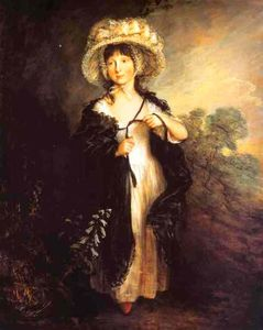 Thomas Gainsborough - Srta Haverfield