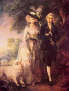 Thomas Gainsborough - Señor y señora Guillermo Hallett