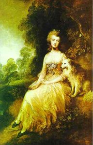 Thomas Gainsborough - Sra Perdita Robinson