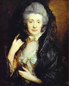 Thomas Gainsborough - La señora Thomas Gainsborough, de soltera Margaret Burr