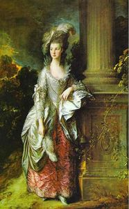 Thomas Gainsborough - El Hon. La señora Thomas Graham