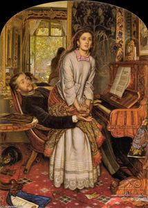 William Holman Hunt - La Conciencia Despertar