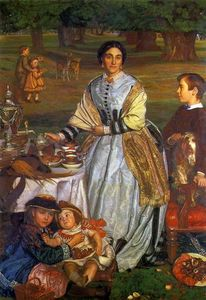 William Holman Hunt - el infantiles vacaciones