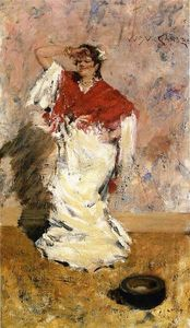 William Merritt Chase - baile chica