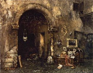 William Merritt Chase - El anticuario Shop