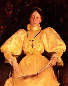 William Merritt Chase - La Dama de Oro