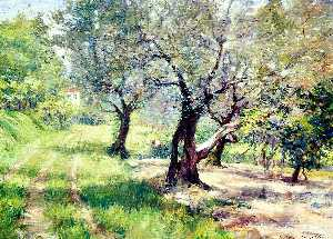 William Merritt Chase - El Olivar