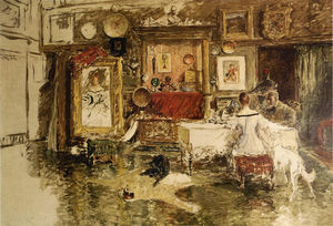 William Merritt Chase - La Décima Street Studio 1
