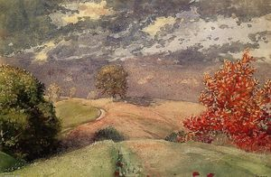 Winslow Homer - Otoño , Mountainville , Nuevagalesdelsur York