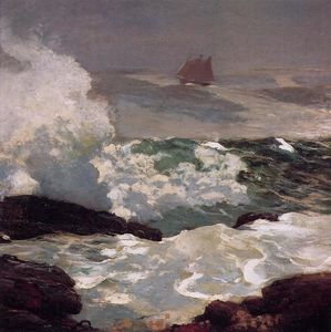 Winslow Homer - En un Lee Shore