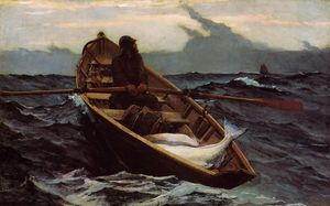 Winslow Homer - el niebla advertencia