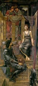 Edward Coley Burne-Jones - Rey Cophetua y el mendigo de mucama