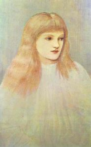Edward Coley Burne-Jones - Retrato de Cecily Horner
