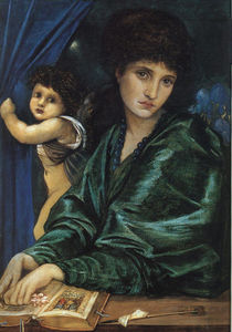 Edward Coley Burne-Jones - Retrato de Maria Zambaco