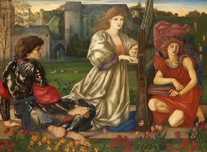 Edward Coley Burne-Jones - canción de amor