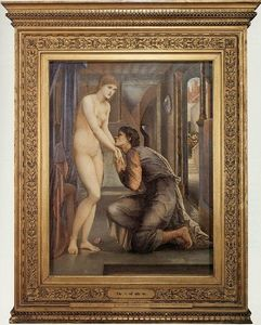 Edward Coley Burne-Jones - El Alma logra ser